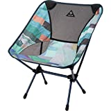Burton Chair One Camping Chair, Block Quilt Print, One Size