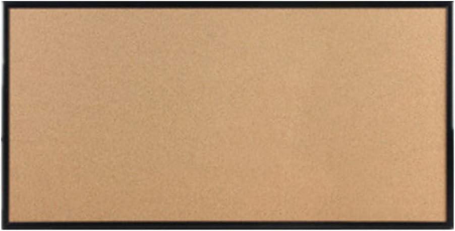 コルクボード フレームコルク掲示板コルクボード掲示板ウッドメッセージボードの壁にはピンボードをマウント 掲示板 (Color : C, Size : 60x120cm)