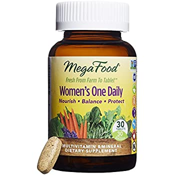MegaFood - Women's One Daily, Supports Healthy Emotional Balance & Stress Response, 30 Tablets (FFP)