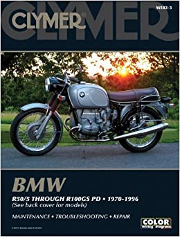 Book BMW R50/5 through R100GS PD 1970-1996 (Clymer Motorcycle Repair) by Penton Staff(May 24, 2000)