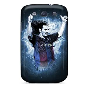 DannyLCHEUNG Samsung Galaxy S3 Shockproof Hard Phone Covers Allow Personal Design Beautiful Messi Series [uTs13728NlIY]