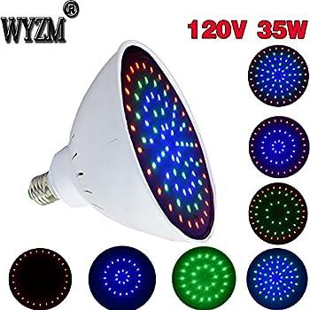 120V 35Watt E26 Lamp Swimming Pool Led Light Inground Bulb For Pentair Hayward