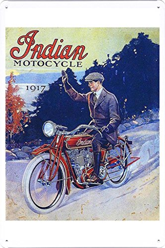 1917 Indian Motorcycle - 7