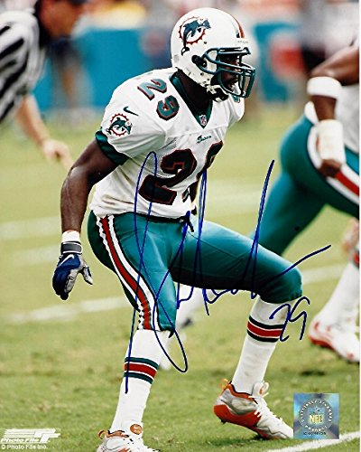 Sam Madison Signed - Autographed Miami Dolphins 8x10 inch Photo