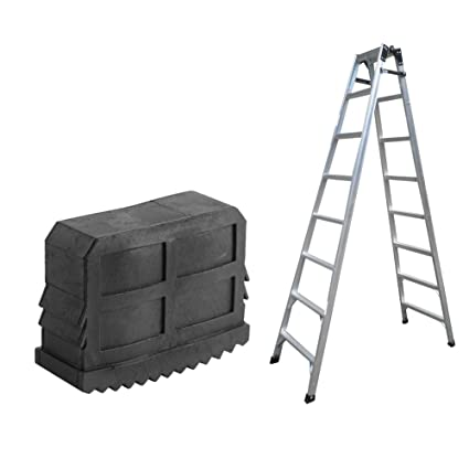 Tools Construction Tools Beautiful 2pcs Black Rubber Step Ladder Feet Non Slip Ladder Foot Replacement Grip Cover Tools 100% Guarantee