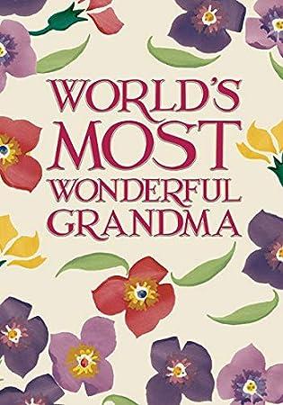 Emma Bridgewater - Tarjeta de cumpleaños para abuela, diseño ...