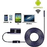 USB Endoscope,Findway WiFi Borescope Inspection Camera 2.0 Megapixels HD Snake Camera for iPhone 7/7Plus/6/6s,iPad,Samsung etc