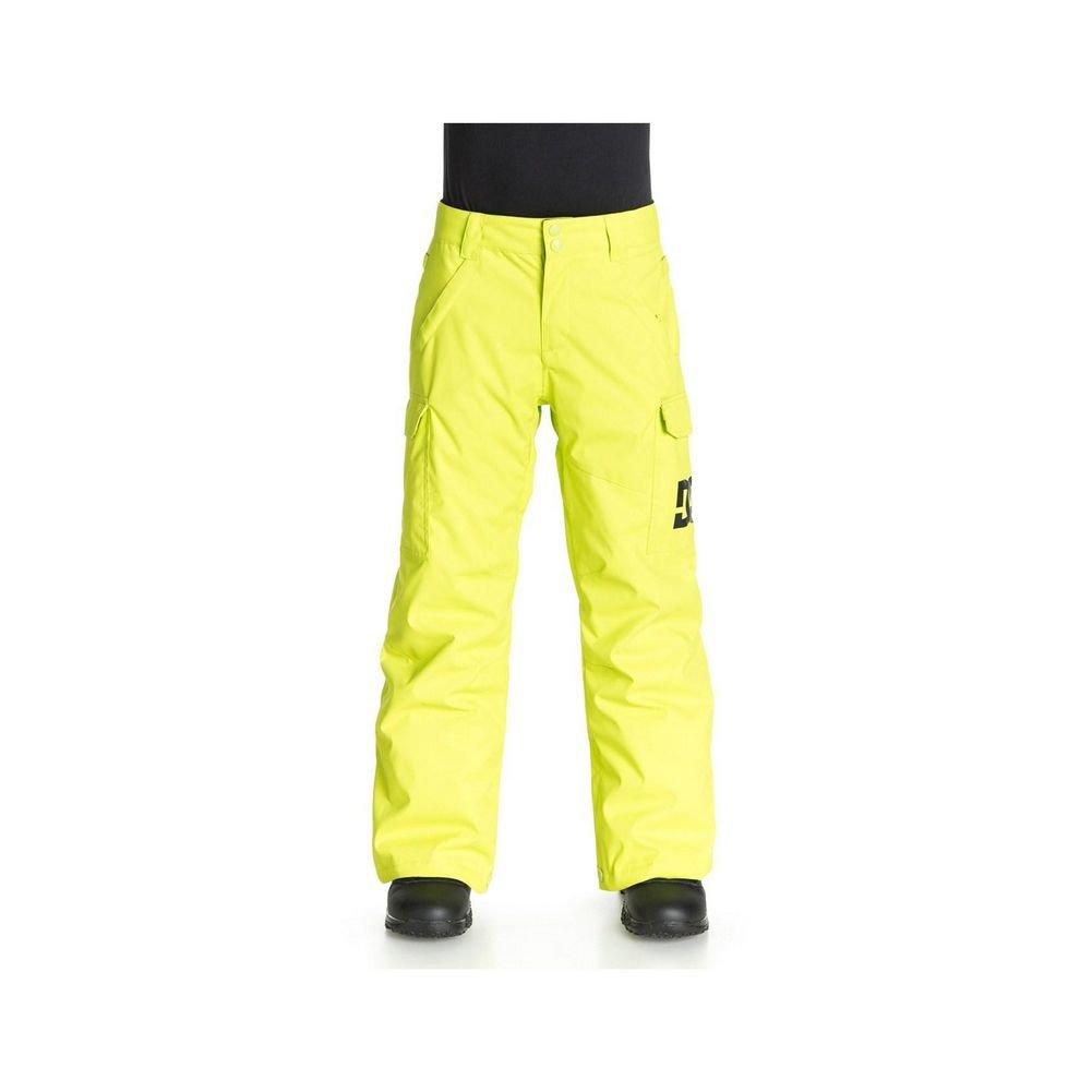 DC Big Boys' Banshee Boy Snow Pant, Lime Punch, 12/Medium by DC