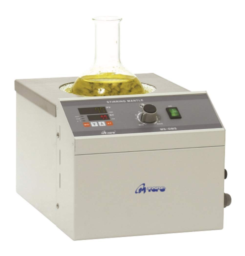 Mtops DMS637 PID Controlled Stirring Heating Mantle,110V, 5000ml, Round Bottom Flask