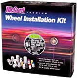 McGard 67179 Chrome M12 x 1.5 Thread Size Cone Seat Lug Bolt Wheel Installation Kit for 5 Lug Vehicles