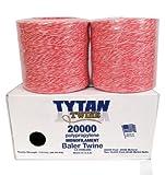 Tytan International Baler Twine (2 Pack), Red