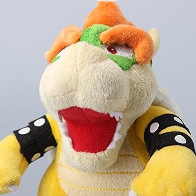 uiuoutoy Super Mario Bros. Bowser King Plush 7'': Toys & Games