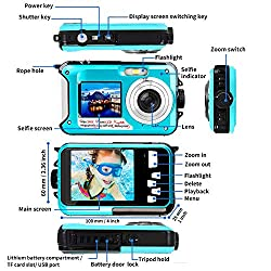 Image of the product Waterproof Camera Full HD that is listed on the catalogue brand of YISENCE.