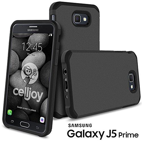 Slim Fit Hybrid Case for Samsung J5 (Black) - 8