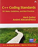 img - for C++ Coding Standards : Rules, Guidelines, and Best Practices by Herb Sutter (25-Oct-2004) Paperback book / textbook / text book