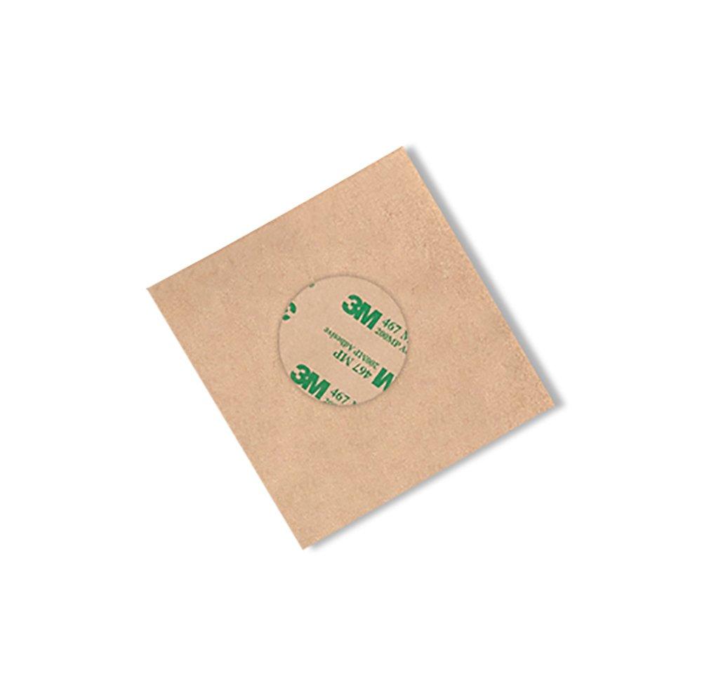 Pack of 1000 3M 467MP High Performance Adhesive Transfer Tape 0.875 Circles 3M 467MP CIRCLE-0.875-1000