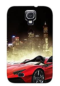 Galaxy S4 Case Slim [ultra Fit] Lamborghini Aventador Protective Case Cover(best Gift Choice For Friends)