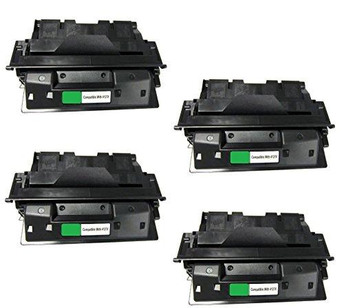 Laserjet 4000 Series Yields - JSL 4pk C4127x 27x High Yield Toner Cartridge For HP LaserJet 4000 4050 series