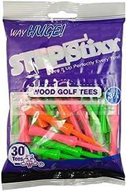 Pride Golf Tee 3-1/4 Inch 30 Count Way Huge STEPSTIXX