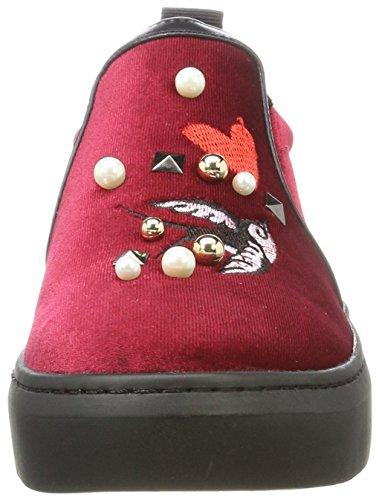 Rojo Fiorucci Bordeaux Zapatillas para Mujer Feaa003 Bordeaux qTCTwg