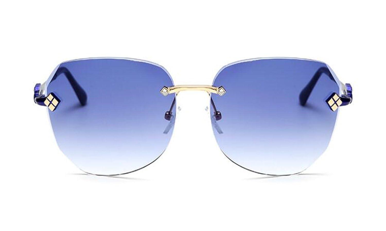 New sunglasses female tide Korean fashion face frame no border sunglasses