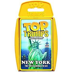 New York '30 Things To See & Do' Top Trumps Card Game