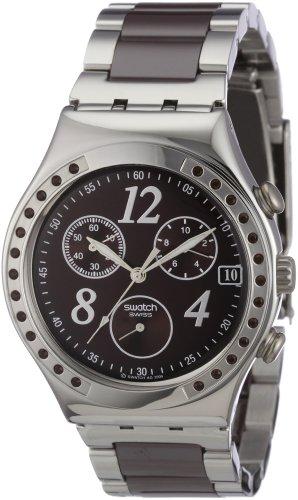 Swatch Irony Chrono Dreambrown Chronograph Brown Dial Men's watch #YCS526G