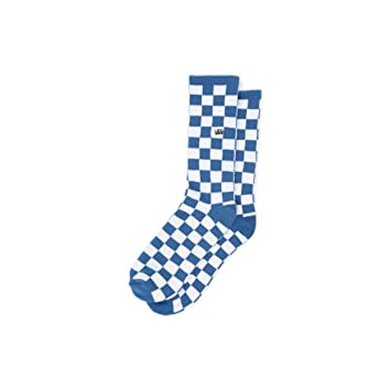 2c74d922ae9792 Vans Checkerboard Crew (42.5-47) - 1 Pair -Fall 2018-(VN0A3H3ORU61) - True  Blue white Check - One Size  Amazon.co.uk  Sports   Outdoors