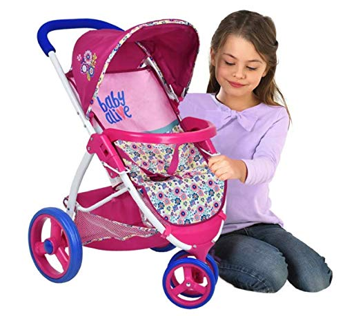 Baby Alive Doll Travel Stroller System