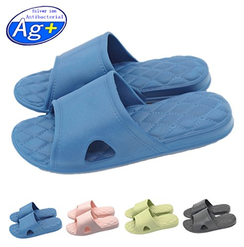 Shoes Shoes Pool Sandals Women navy Foams Mule Happy Soft Shower On Water Lily Non House Slip Sole Slippers Men's slip Bathroom CqZaqHxSw