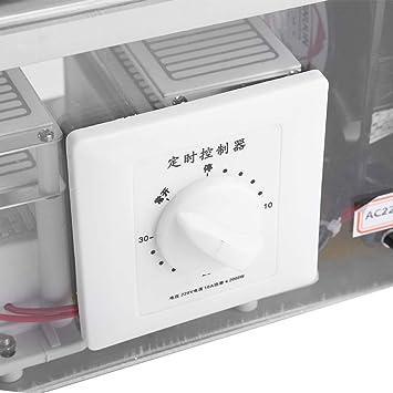 Spina UE 220v Jeffergarden 20g Ozonizzatore Generatore Purificatore Air Cleaner Home Office allInterno della Macchina Disinfezione dellozono per Auto
