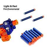 Acekid 200 Pcs 7.2cm Refill Foam Darts Bullet for Nerf N-strike Elite Series Blasters Kid Toy Gun Refill Pack Blue