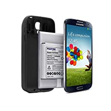 Perfine Samsung Galaxy S4 7500mAh Extended Battery mith NFC+Protective TPU Case for Samsung GT-i9505 GT-I9500 I9506