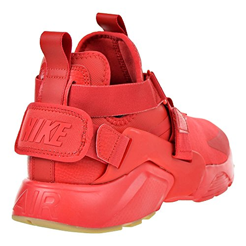 Pictures of NIKE Air Huarache City Women's Shoes Red/Speed Red/Black 5