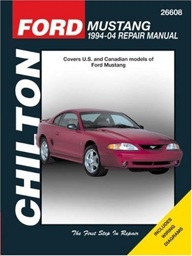Ford Mustang: 1994 through 2003, Updated to include 1999 through 2003 models by Robert Maddox (March 02,2007) (2003 Models Through)