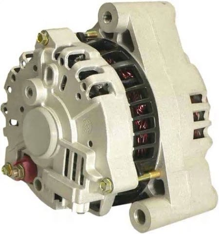 110 AMP FORD ALTERNATOR FOR 2002 FORD THUNDERBIRD 3.9L AND 2000 2001 2002 LINCOLN LS 3.9L (XW4U-10300-BA, XW4U-10300-BB, XW4Z-10346-BA, XR8U-10300-CE, XR8Z-10346-CE) - 8256 -  Maniac EM