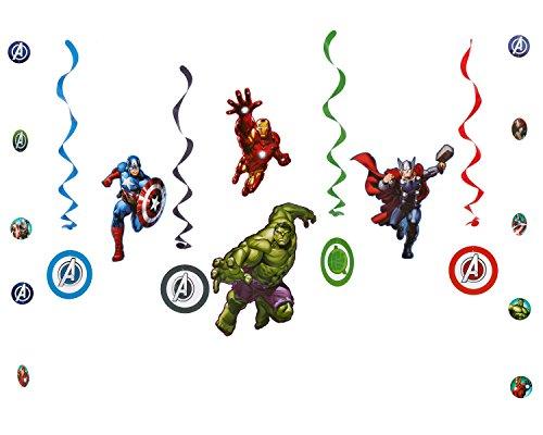 Avengers Decorations (American Greetings Avengers Room Decorating Kit)