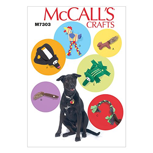 Toy Pattern - McCall's Patterns M7303 Pet Toys, One Size Only