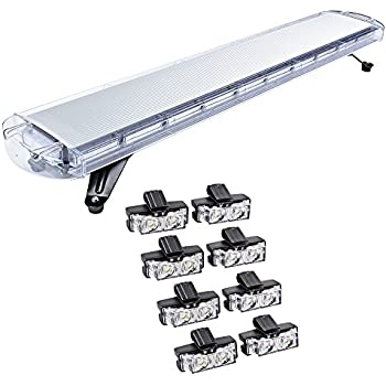 Amazon Com 47 Inch 88 Led 8x 2 Led Emergency Warning