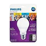 Philips 464875 Led 60W A19 Sceneswitch Colour (2200K, 2700K, 5000K),,