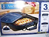 Anchor Hocking 3pc Essentials Baker Casserole with Insulated Tote