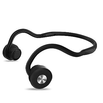 Conducción ósea Auriculares Bluetooth con micrófono de alta definición para maratón de seguridad de ciclismo de conducción en ejecución compatible con y ...