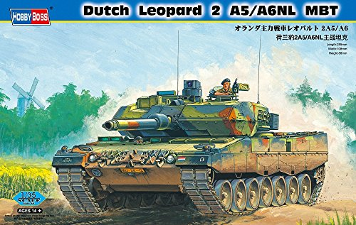 pard 2A5/A 6NL MBT Vehicle Model Building Kit (Leopard Grille)