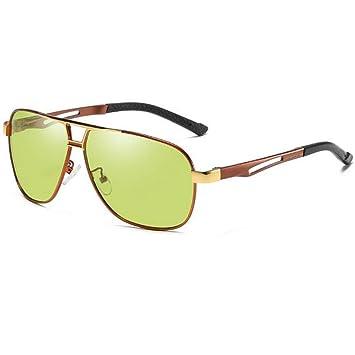 YHgiway Gafas de Sol de Aviador fotocrómico polarizada ...