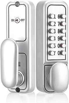 Teclado mecánico sin llave, botón de seguridad, código ...