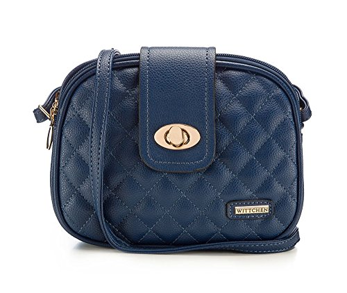 Quilted from the Handbag Wittchen Collection Young Handmade Crossbody ZzxqwOF