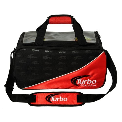 Turbo 2 Ball Tote Bowling Bag- Red/Black