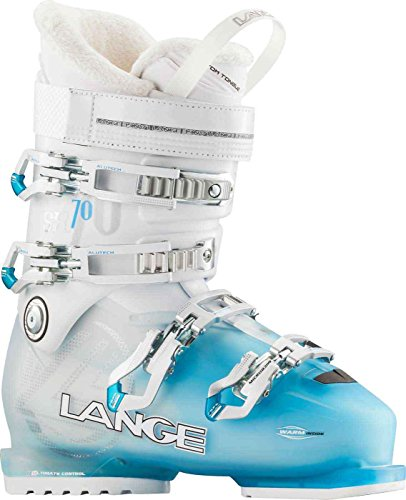 - Lange SX 70 W Ski Boot - Women's Blue/White, Women, SX 70 W, Blue/White, 24.5