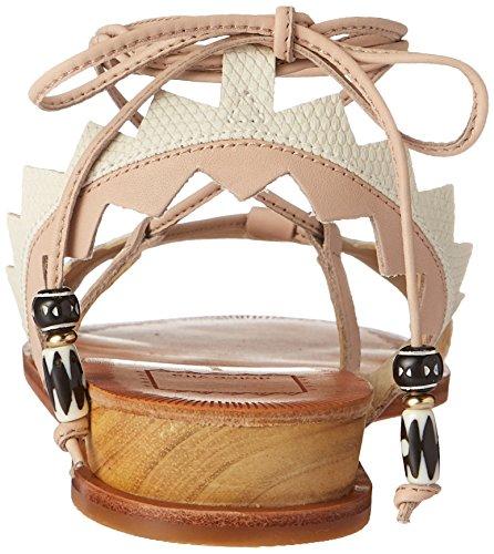 Dolce Vita Women's Pedra Flat Sandal Natural Multi Leather buy cheap for nice buy cheap popular zKwsEFV0