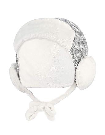 Lukis Casquette Cache-Oreilles Bonnet Polaire Earflap Bébé Fille Garçon 5-9  Mois Hiver 046dba2687f